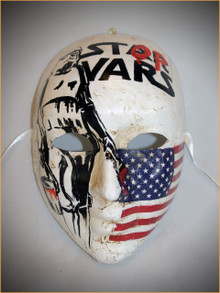 Authentic Venetian mask Volto Banksy USA