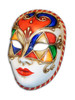 Authentic Venetian Mask Volto Colore