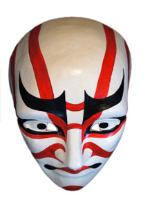Authentic Ventian mask Volto Kabuki Sujikuma