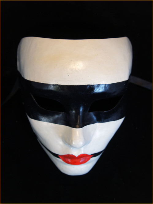 Authentic Venetian mask Volto Kabuki Snapdragon