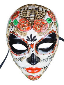 Authentic Venetian Mask Volto Flor