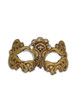 Authentic Venetian Mask Colombina Adela