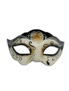 Authentic Venetian Mask Colombina Dolores