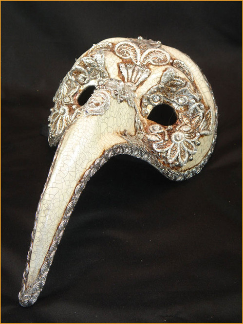 Authentic Venetian mask Zan Turco Mac Craquele