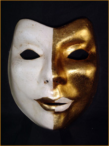 Venetian mask Volto Uri