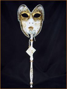 Venetian mask Volto Manico Colore