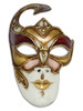 Authentic Venetian mask Volto Ann