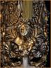 Venetian mask Luna Baroque