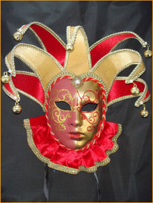 Venetian mask Jolly Velutto Bib