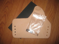 IWB (mold your own cup) Kydex/Leather Hybrid Holster KIT