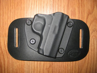 Colt OWB standard hybrid leather\Kydex Holster (Adjustable retention)