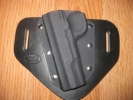 Colt OWB standard hybrid leather\Kydex Holster (fixed retention)