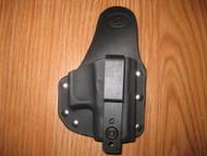 GLOCK IWB small print hybrid holster Kydex/Leather