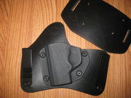 GLOCK IWB/OWB standard hybrid leather\Kydex Holster (Adjustable retention)