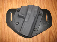 GLOCK OWB standard hybrid leather\Kydex Holster (Adjustable retention)