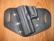 HK OWB standard hybrid leather\Kydex Holster (fixed retention)