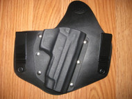 SIG SAUER IWB standard hybrid leather\Kydex Holster (fixed retention)