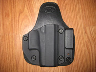 WALTHER IWB appendix carry hybrid Leather/Kydex Holster (adjustable retention)