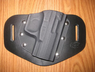 WALTHER OWB standard hybrid leather\Kydex Holster (fixed retention)