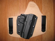 KIMBER IWB standard hybrid leather\Kydex Holster (fixed retention)