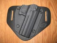 KELTEC OWB standard hybrid leather\Kydex Holster (Adjustable retention)