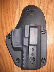 Glock IWB Kydex/Leather Hybrid Holster small print with adjustable retention