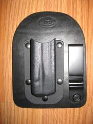 IWB Kydex/Leather Hybrid Single Magazine Carrier