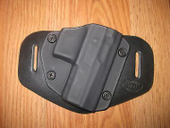 Keltec OWB Kydex/Leather Hybrid Holster with adjustable retention