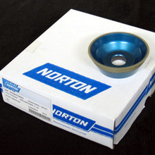 75 x 30 x 20 Diamond Wheel Taper Cup - Type 11V9 (Norton)