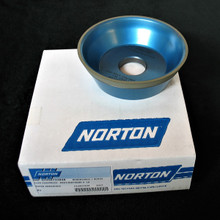 125 x 40 x 32 Diamond Wheel Taper Cup Type 11V9 (Norton)