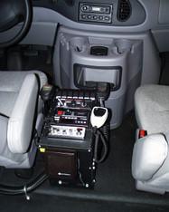"C-1200V, 12"" Enclosed Console"