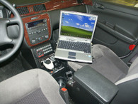 """C-VS-1000-IMP-1-TMW, 2006-2013 Chevrolet Impala police package & 2014-2016 Impala Limited Vehicle Specific 10"""" Console With 30"""" Tunnel Plate"""