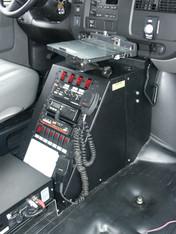 "C-VS-1800-SAV, 2002-2016 Chevrolet G-Series or GMC Savanna Van Vehicle Specific 18"" Console"