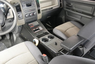 "C-VS-0814-RAM-1, 2012 Dodge Ram 1500 Special Services Police Truck Vehicle Specific 22"" Console"