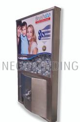 Máquina Vending Brushito de Pared Inoxidable
