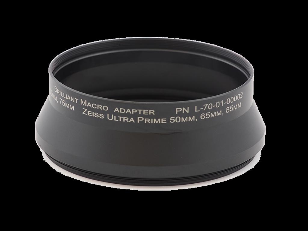 Macro Adapter - Zeiss Ultra Prime 50mm, 65mm, 85mm - Schneider Cine-Xenar 75mm, 95mm