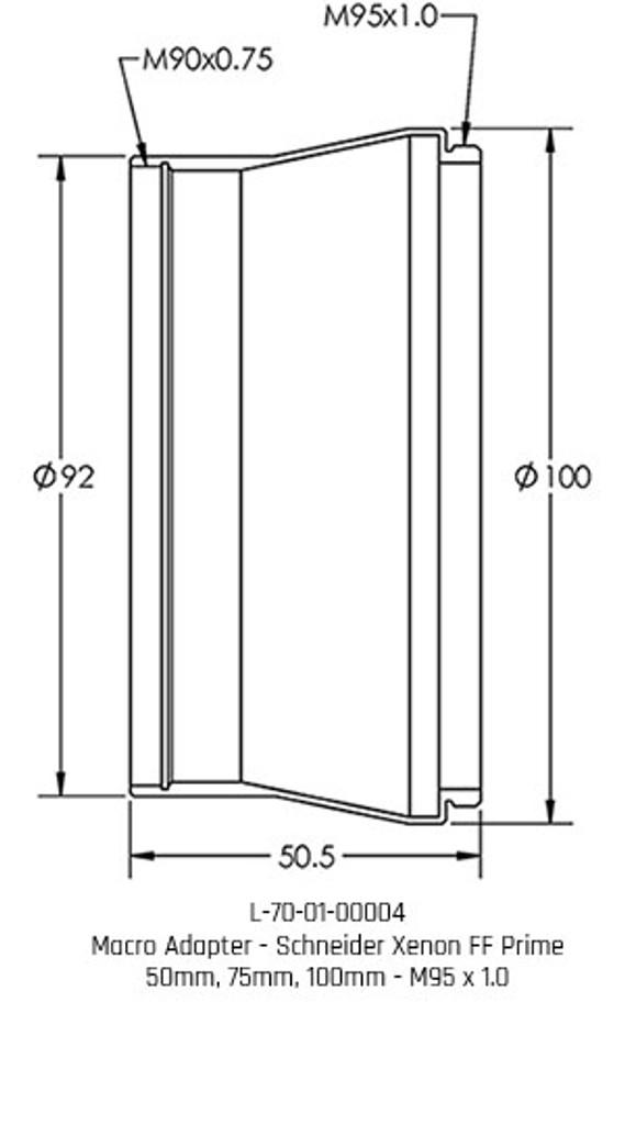 Macro Adapter  - Schneider Xenon FF Prime
