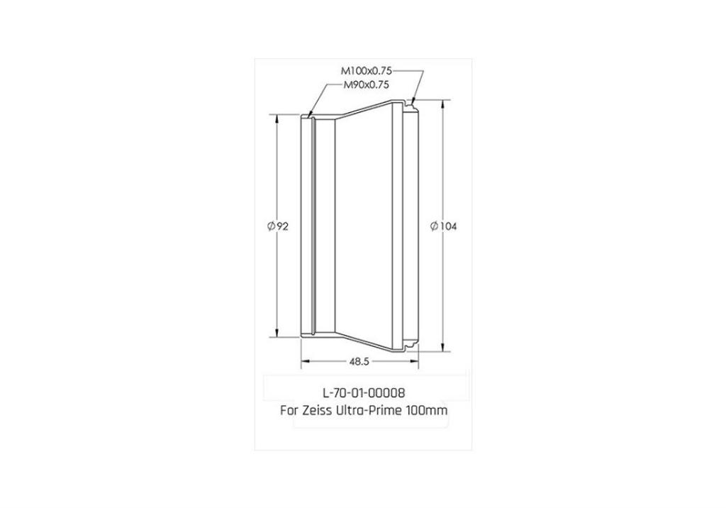 Macro Adapter - Zeiss Ultra Prime 100mm
