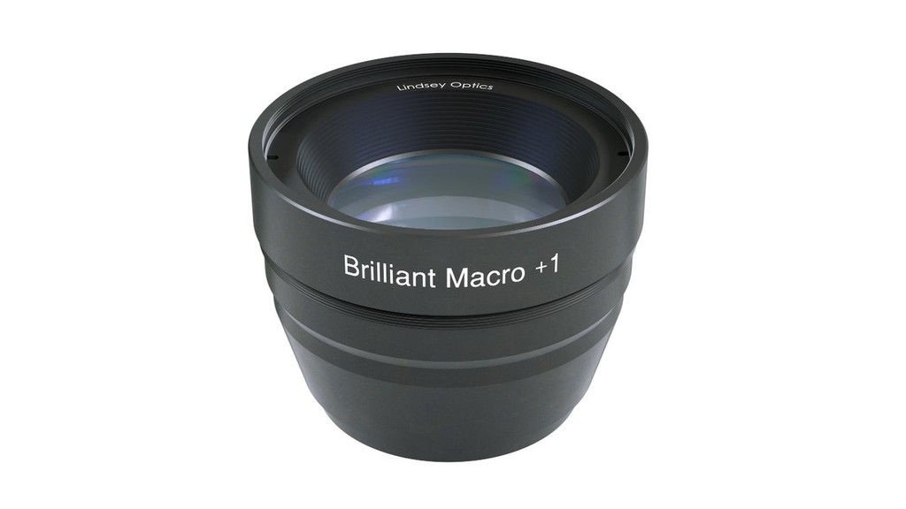 Brilliant Macro +1 Attachment Lens. This Macro lens attachment works with cine prime lenses and compact zoom lenses.
