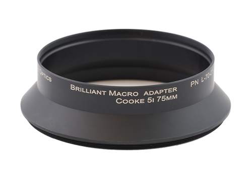 Brilliant Adapter - M105 x 0.75 x 31.5L - Cooke 5i 75mm