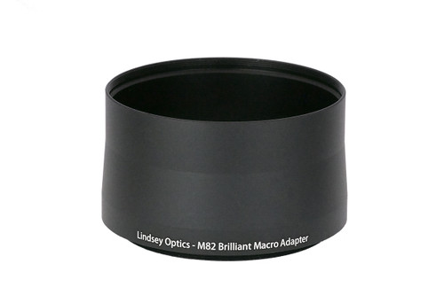 Brilliant Adapter - Adapts Brilliant Macro lenses to 82mm filter thread