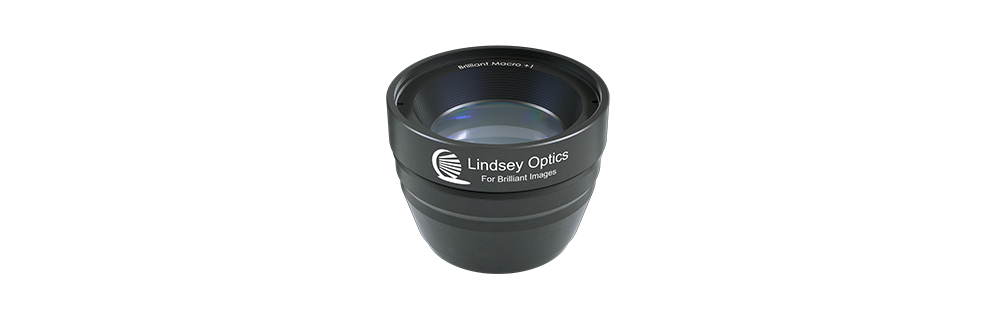 Lindsey Optics Brilliant Macro attachment lens for cinematography side view