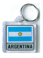 Argentina Flag Key Chain
