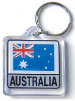 Australia Flag Key Chain