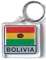Bolivia Flag Key Chain