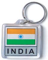 India Flag Key Chain