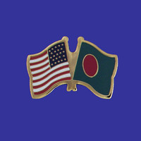 Bangladesh/USA Flag Pin