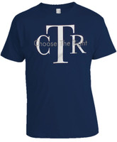 CTR (choose the right) Blue T-Shirt