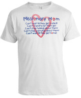 Missionary Mom Heart T-Shirt