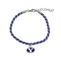 BYU SilverSilk Bracelet